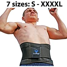 Thermogenic Lumbar Lower Back Brace – free E-book on Lower Back Pain Relief – Inner Elastic Boning & Dual Adjustable Straps – Lumbar Support Belt for Lifting, Posture, Sciatica, & Scoliosis