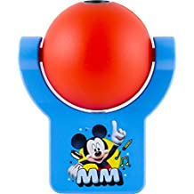 Disney Mickey Mouse Clubhouse Projectables LED Plug-In Night Light, 11743, Image Projects Onto Wall or Ceiling