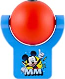 Projectables 11743 Mickey Mouse Clubhouse LED Plug-In Night Light, Red and Blue, Light Sensing, Auto On/Off, Projects Disney Characters Mickey, Goofy, and Donald Image on Ceiling, Wall, or Floor