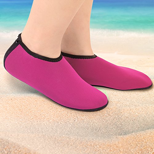 Swimming for Men Shoes Women All Snorkeling Diving Water Heeta Pink Water Water Neoprene Sports for Socks CqaCpPwA