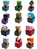 Lego Minecraft + MineCart Hot Wheels with Minecraft Collectible Figure Mystery Blind Box series 5 Ice Minecraft Car HW Ride-Ons - Minecraft 21119 the Dungeon Building Kit