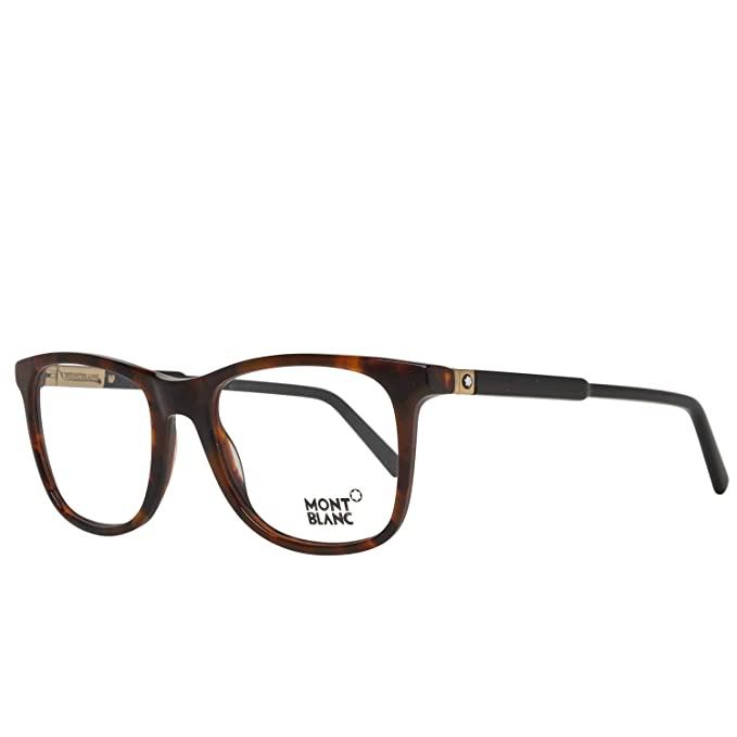 Mont Blanc MB0637, Monturas de gafas Unisex Adulto, Marrón ...