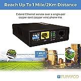 Ethernet Extender Kit Tupavco TEX-100 Over Phone
