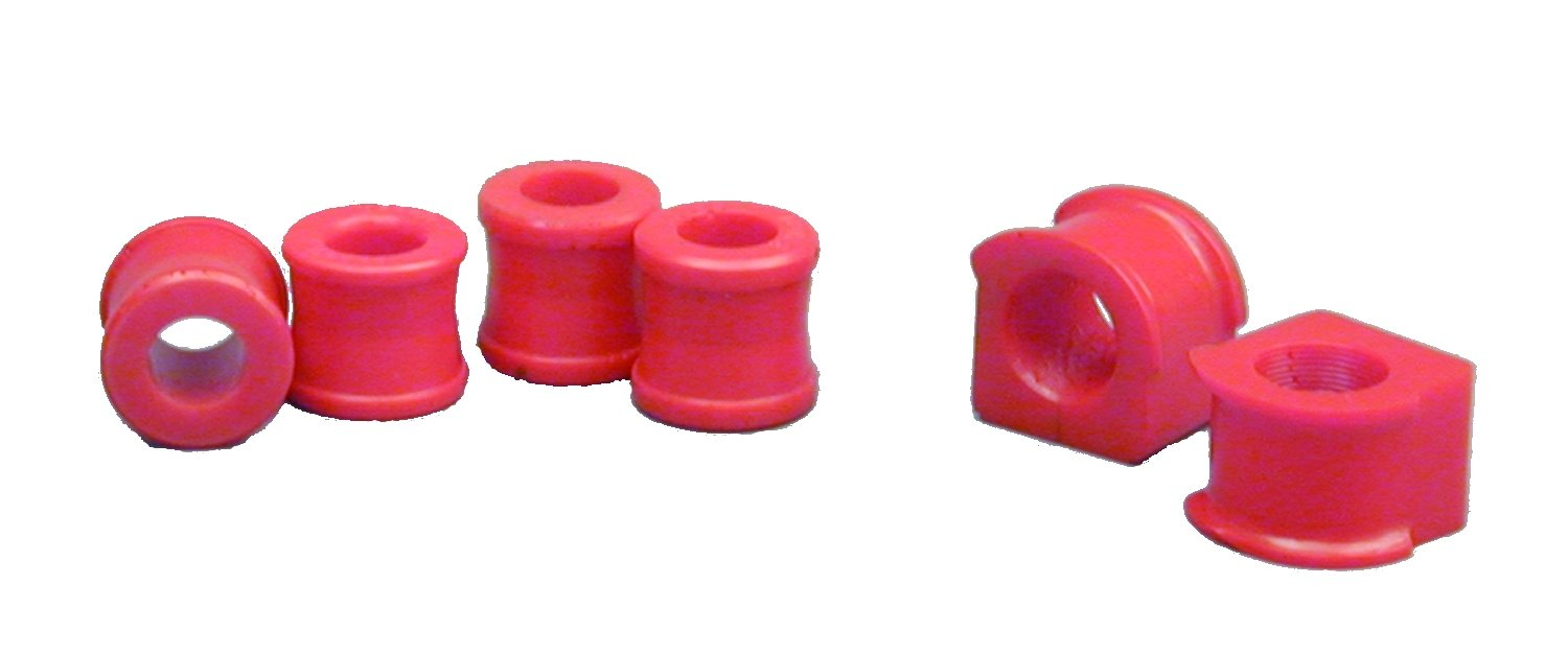 Prothane 22-1102 Red 21 mm Front Sway Bar Bushing Kit
