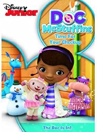 Doc McStuffins: Time For Your Check up [DVD]: Amazon.co.uk