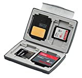 Gepe 3856E CardSafe Basic Duo for Compact Flash, SD, Smart Media, Multimedia Card, & Memory Stick (Onyx)