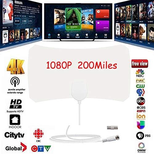 MeterMall Antena de TV Digital HD Skylink 4K Antena Digital ...
