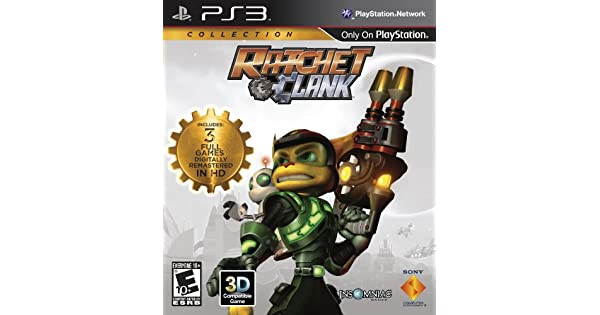 Amazon com: Ratchet & Clank Collection: Playstation 3: Sony