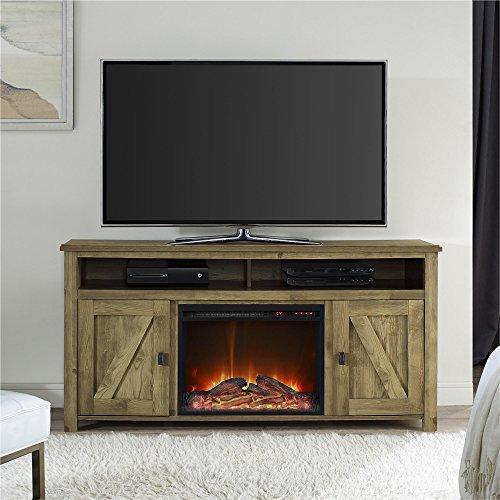 Ameriwood Home Farmington Electric Fireplace TV Console ...