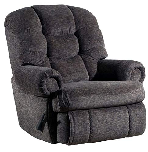 (Lane Stallion Big Man Comfort King (Large) (Rocker) Recliner in Gladiator Cafe. Made for The Big Guy Or Gal. Rated for Up to 500 Lbs. Extended Length. 79 Inches. Seat Width. 25 Inches. 4501L)