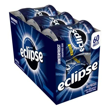 Sugar Free Winterfrost Chewing Gum, 6 Ct, Release a Cool Burst of Refreshing by Eclipse