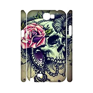 PCSTORE Phone Case Of Sugar Skull For Samsung Galaxy Note 2 N7100