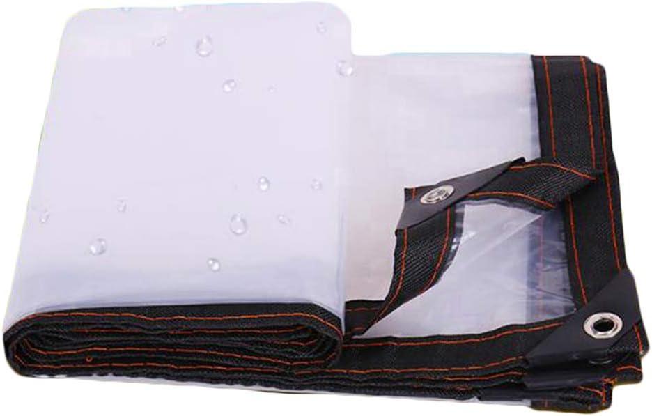 QI-CHE-YI Trasparente Tela Cerata Campeggio la Pesca Tarps,1x1m Parasole Esterna dellisolamento Termico della plastica Impermeabile Panno Esposizione