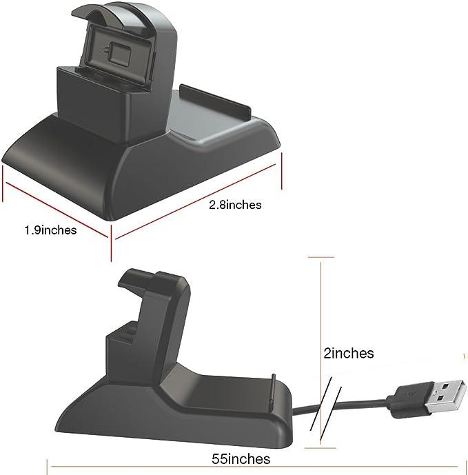 Tusita Chargeur Pour Fitbit One USB Câble de charge sans fil 15 cm Activity Tracker