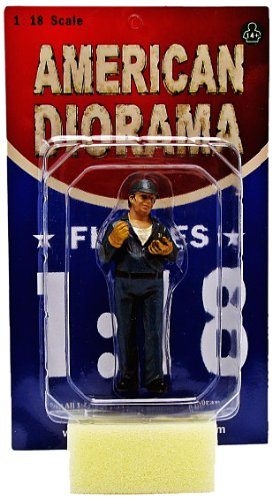 American Diorama Wholesale Tow Truck Driver/Operator Bill Figure For 1:18 Scale Diecast Car Models