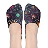 XYMNZGS Funny Tarot No Show Socks Women Ankle Socks Low Cut For Hiking