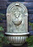 The Theodora Outdoor Wall Fountain - Parchment