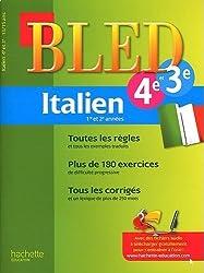 Cahier Bled - Italien 4e/3e - 13-15 ans