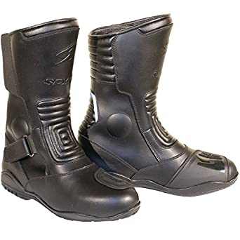 Botas cuero,SPYKE ROAD KING WP BOOT (40, Negro)