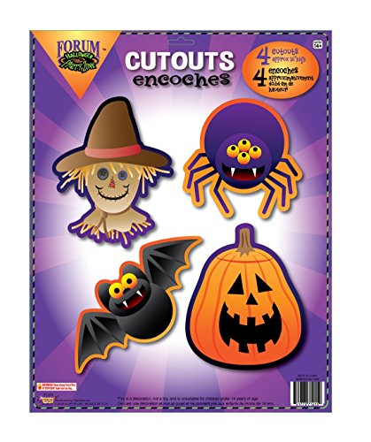 (Halloween Wall Cutouts (4))