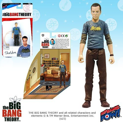 Big Bang Theory Sheldon Batman 3 3/4-Inch Figure Series 1