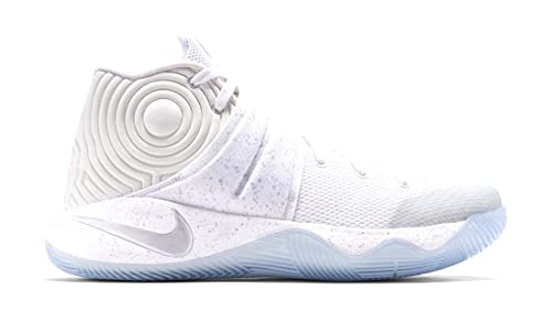92c8b0c5c969 Nike Kyrie 2 GS (White Metallic Silver) Silver Speckle (4)  Amazon ...