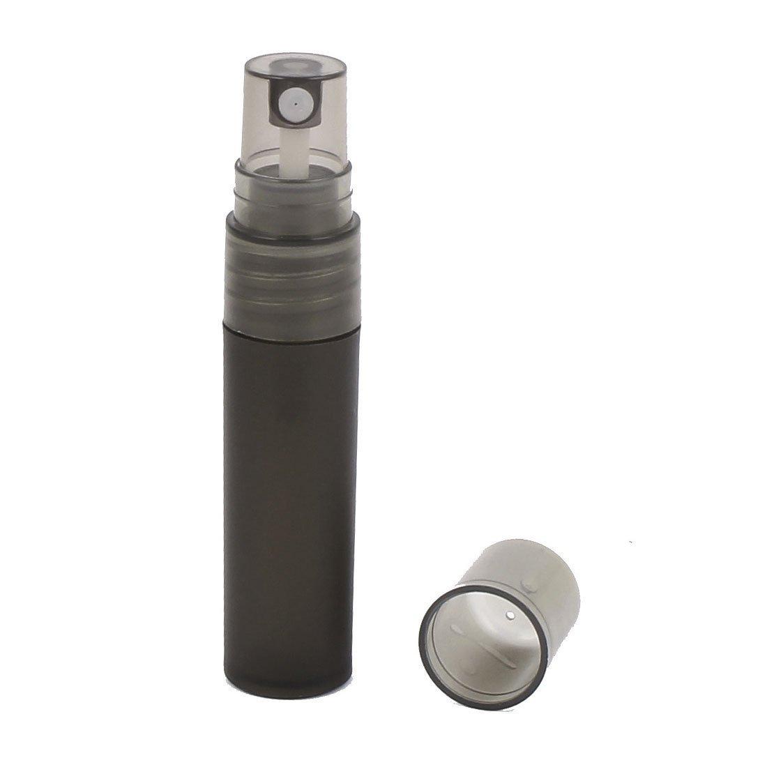 Amazon.com: eDealMax plástico líquido de pulverización Botella de Perfume 5ml soporte del contenedor de 5pcs Negro: Health & Personal Care