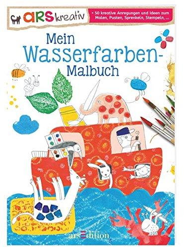 Mein Wasserfarben Malbuch Amazonde Mascha Greune Bücher