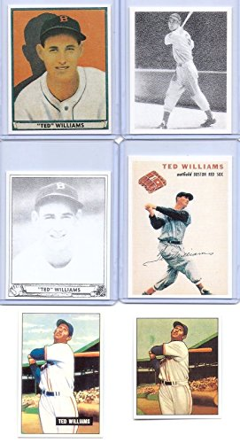 Ted Williams 1939 Playball Rookie Card/1950-51 Bowman 6