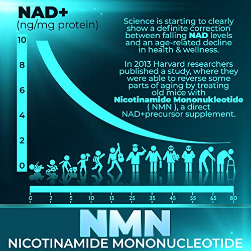 51PkLd7LGqL - NMN Supplements, NMN Nicotinamide Mononucleotide, Nad Booster By Infinite Age  NMN Powder 15 GRAMS (Per Jar) For Anti Aging, Brain Function, Stress, Health, Energy. NMN Molecule Supplement