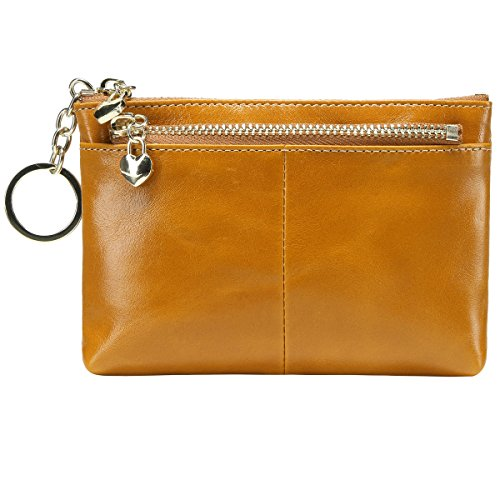 itslife-triple-zipper-leather-mini-coin-purse-card-holder-with-key-chain