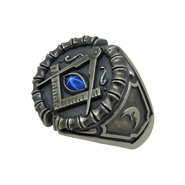 Masonic-Sterling-Silver-925-Blue-Sapphire-Custom-All-Seeing-Eye-Ring-antique-finish-KTR020