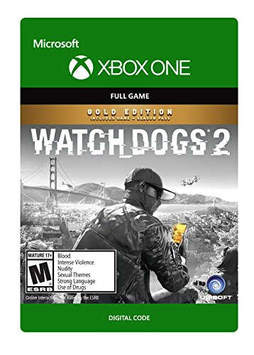 Watch Dogs 2 Gold Edition - Xbox One Digital Code by Ubisoft