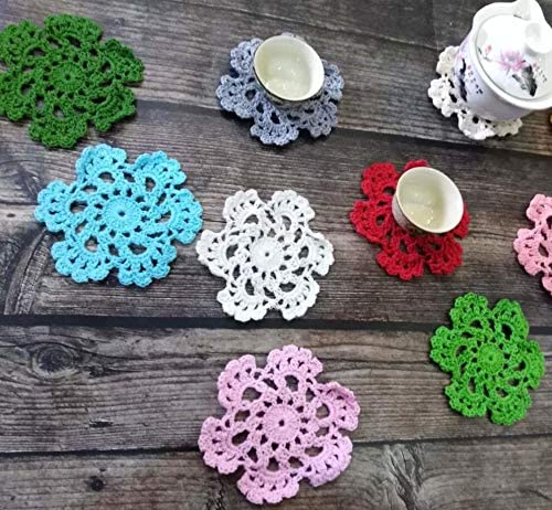 Compra Zyhoue Posavasos-manteles 1pcs Retro algodón Crochet ...