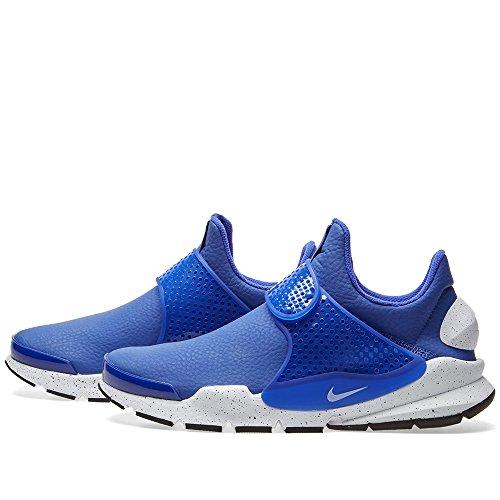 Nike Sok Dart Damesmode-sneakers 881186 Belangrijkst Blauw / Wit-zwart