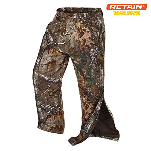Onyx-Arctic Shield-X-System Unisex Quiet tech pant, Realtree Xtra, X-Large