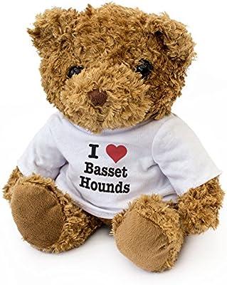 London Teddy Bears Nuevo - I Love Cesta Casetas - Oso de Peluche - Lindo Suave - Regalo de Perro Regalo de cumpleaños Navidad: Amazon.es: Jardín