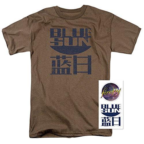 (Firefly Blue Sun Logo Sci-Fi TV Show T Shirt)