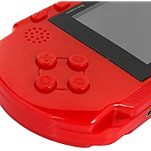 Huntmic Handheld Game Player 16bit Portable Video Game Console PXP3 Game Console With One Cartidige Built in 100+ Games Boys Gift for Christmas