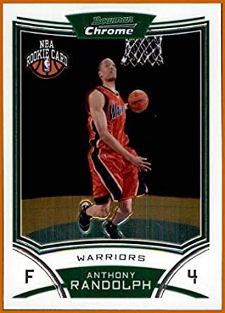 huge selection of d4740 df039 2008-09 Bowman Chrome #123 Anthony Randolph RC rookie GOLDEN ...