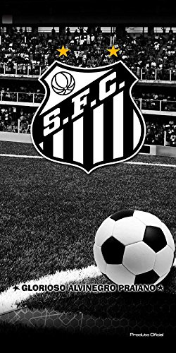 Toalha Felpuda Time de Futebol - Santos  80e356b9e2d7b