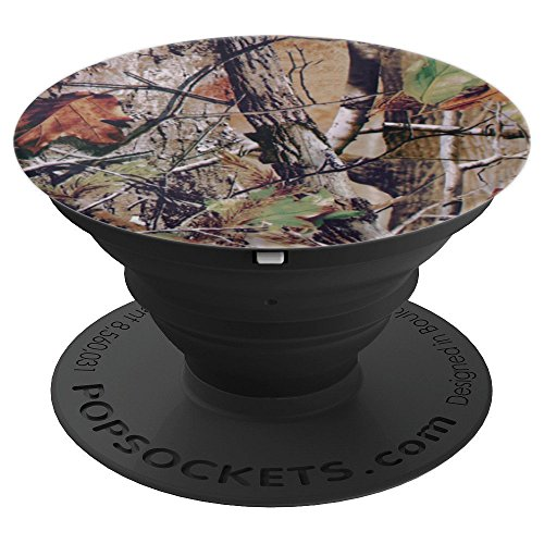 CLK Collection- Outdoor Hunting Camouflage Gift - PopSockets Grip and Stand for Phones and Tablets by CLK Collection