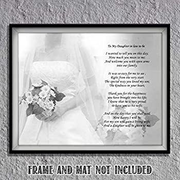 Amazon.com: to Our Son On Your Wedding Day - Poem Print