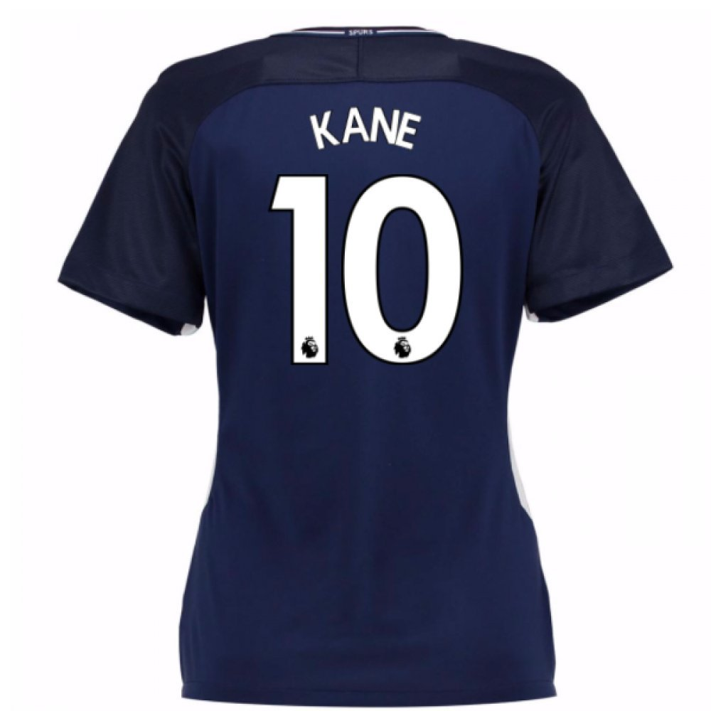 2017-18 Tottenham Damenschuhe Away Football Soccer T-Shirt Trikot (Harry Kane 10)
