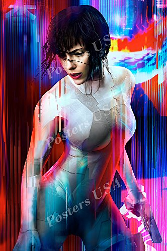 (Posters USA - Ghost In the Shell 2017 Scarlett Johansson Textless Movie Poster GLOSSY FINISH - FIL011 (24