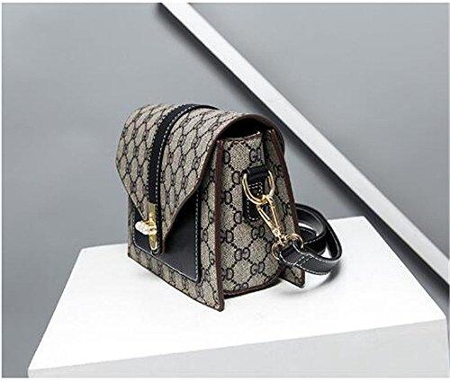 Summer Single Shoulder Bag Woman Bag,Black,200X145X90Mm by SJMMBB (Image #1)