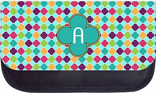Colorful Lattice Rosie Parker Inc. TM Custom Pencil Case - Customize Yours Now!