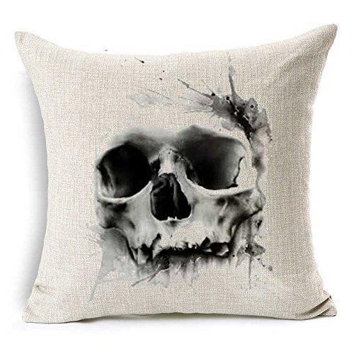 Ghost Skull Pillow 18