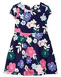 Gymboree Little Girls' Bow Back Dress, Floral, 5