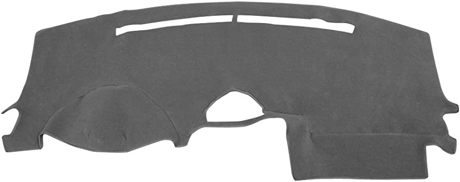 Grey Hex Autoparts Dash Cover Mat Dashboard Pad for Toyota Sienna 2004 2005 2006 2007